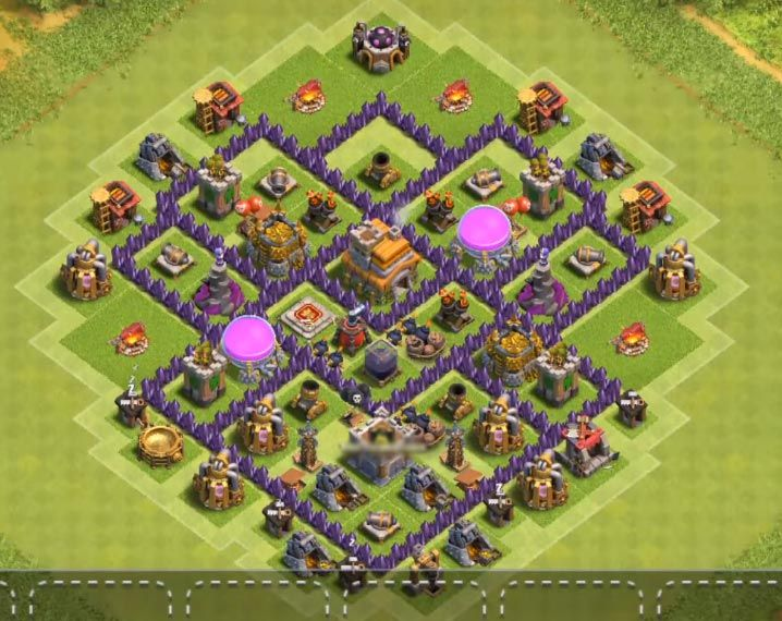 35 Best Town Hall 7 Hybrid Bases 2020 New Clash Of Clans Hack Town Hall Clash Of Clans Game