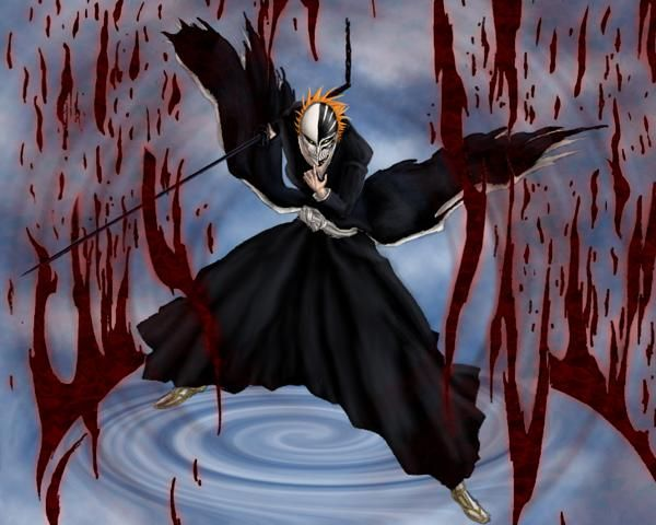 Image - Ichigo Bankai Vizard - Fan Art.jpg - Bleach Wiki - Your guide to the Bleach manga and anime series