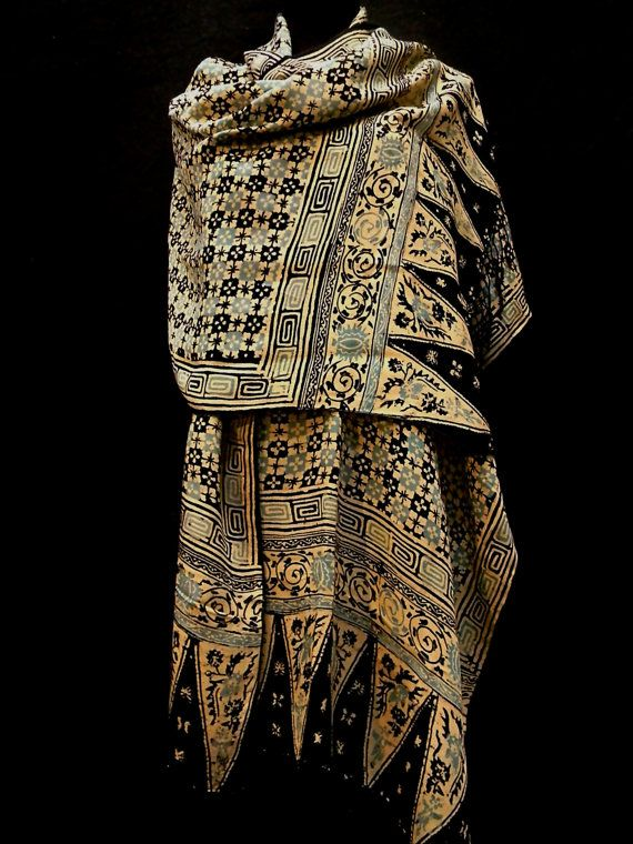 Collectors Quality Rare VINTAGE BATIK INDONESIAN by Luxethnik, $1295.00