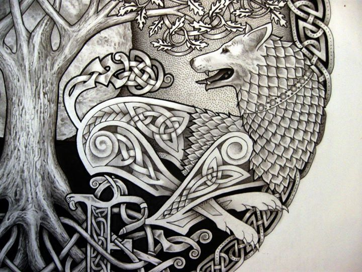 35 best Celtic Wolf Tattoo images on Pinterest Celtic