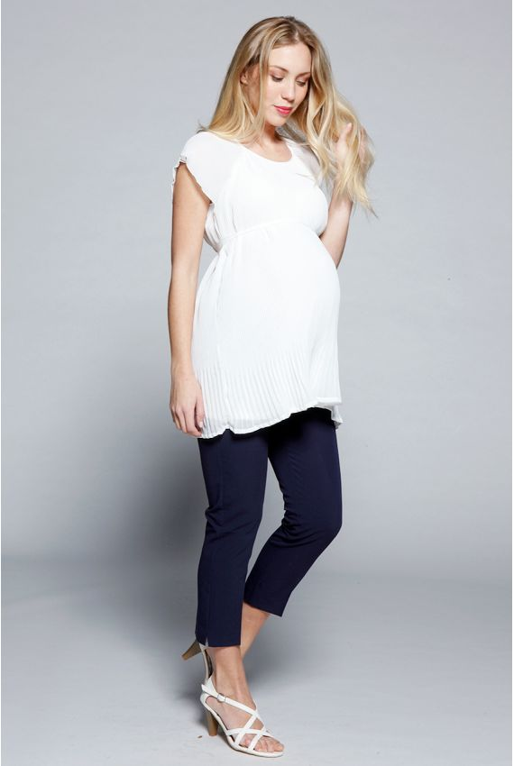 Top grossesse chic - Top grossesse Izabelle Snow http://www.MammaFashion.com/