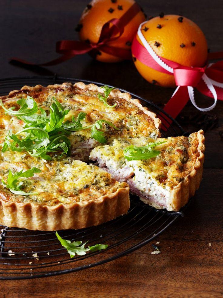 Christmas Quiche | Eggs Recipes | Jamie Oliver