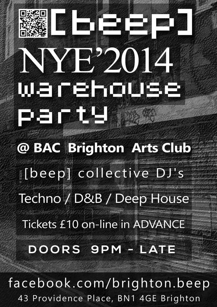 GODDAMN MEDIA: New Year's Eve at Brighton Arts Club