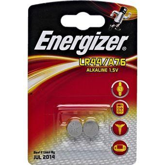 ENERGIZER BATTERY 1.5V A76/LR44 2P/PACK