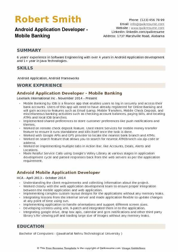 Resume Format 6 Years Software Engineer Resume Templates Resume Format Software Engineer Resume