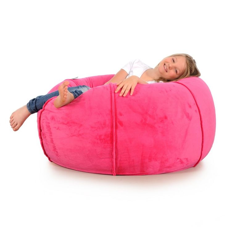 Bean Bag PLUSH pink for children - JABBA Design