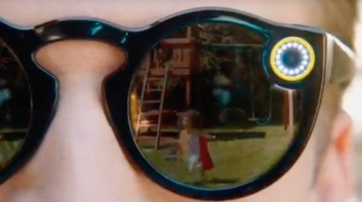 Snapchat Spectacles – Des Google Glass pour les enfants