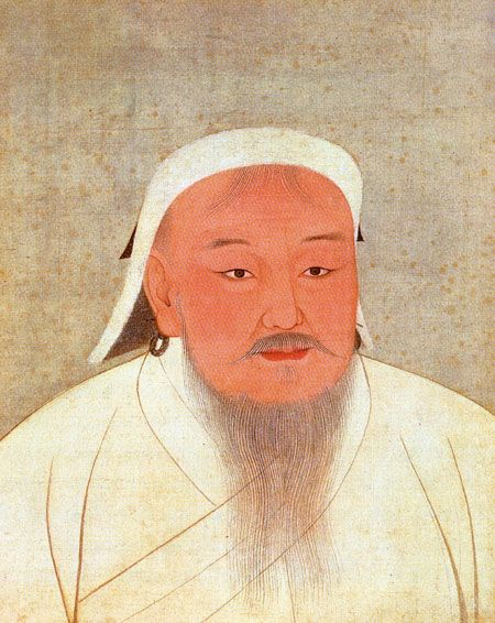 Ghengis Khan: United nomadic tribes in northeast Asia to found the Mongol Empire #140travellers