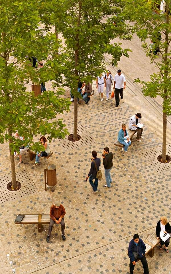 How Bonn Square Brought The Old and New World Together