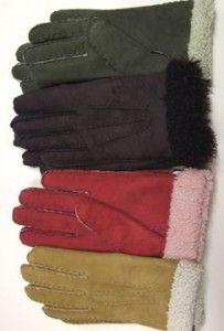 Lambskin Suede Gloves - Ladies – Real Wool Shop