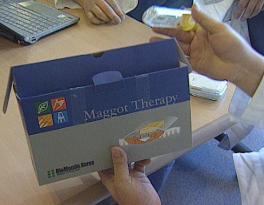 Maggot therapy - nuff said