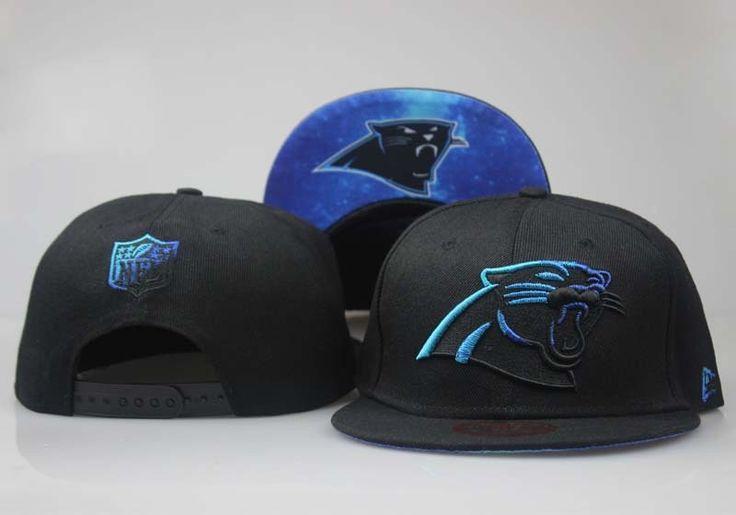 Men's Carolina Panthers Rasta Team Logo Galaxy Print Under Visor 9fifty Snapback Baseball Hat - Black