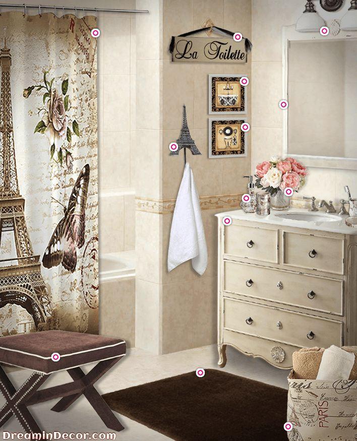 The 25+ Best Paris Bathroom Decor Ideas On Pinterest Small   Paris Themed  Bathroom