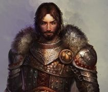 Lord Brandon Stark was a Lord of Winterfell and head of House Stark. Was the youngest son of Lord Cregan Stark and Lady Lynara Stark. He became Lord of Winterfell after two of his older brothers. Was married to Lady Alys Karstark, with whom he had three children; Rodwell, Beron and Arsa Stark. He also had a bastard son Lonnel Snow to Lady Wylla Fenn.  He is buried in the crypts of Winterfell.