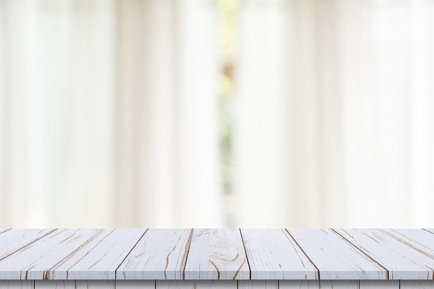 Empty Wood Table Top On Blur White Window Background For Product Or Foods Montage Wood Table Top White Wood Table Natural Wood Table Top