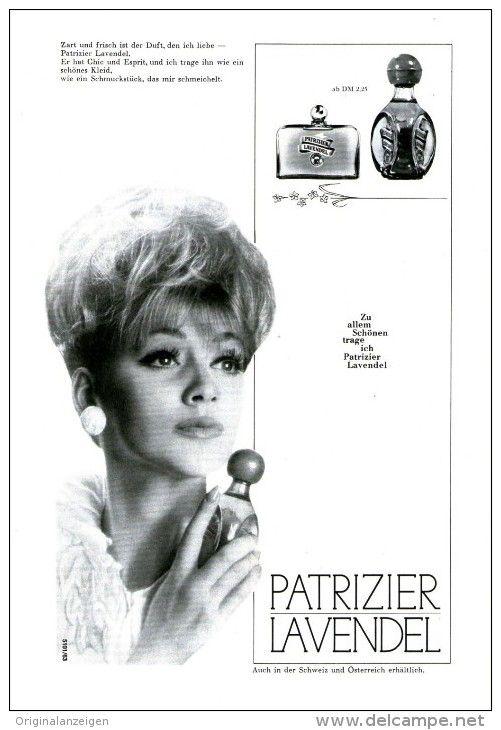 Original-Werbung/Anzeige 1962 - 1/1 SEITE - PATRIZIER LAVENDEL PARFUM  - ca. 160 x 230 mm