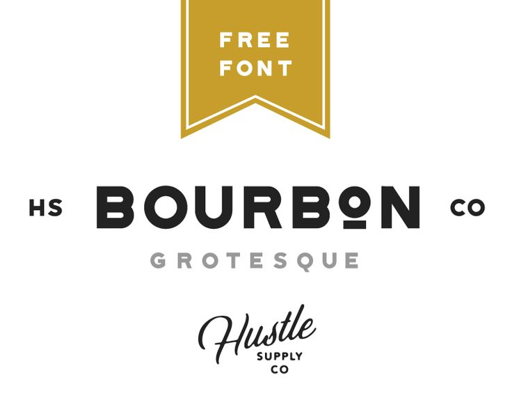 """Check out this @Behance project: """"Bourbon Grotesque 