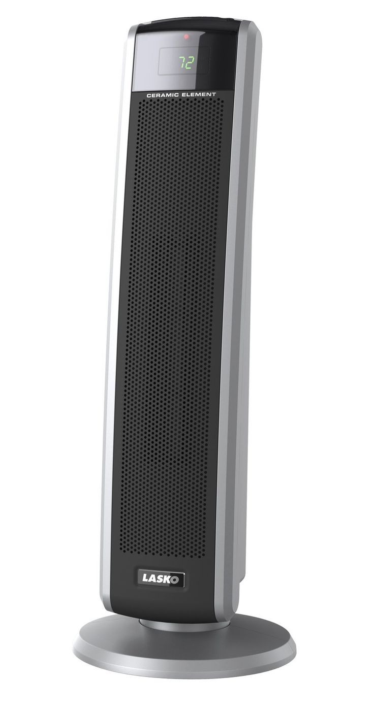 Lasko 5586 Digital Ceramic Tower Heater with Remote - Space Heaters