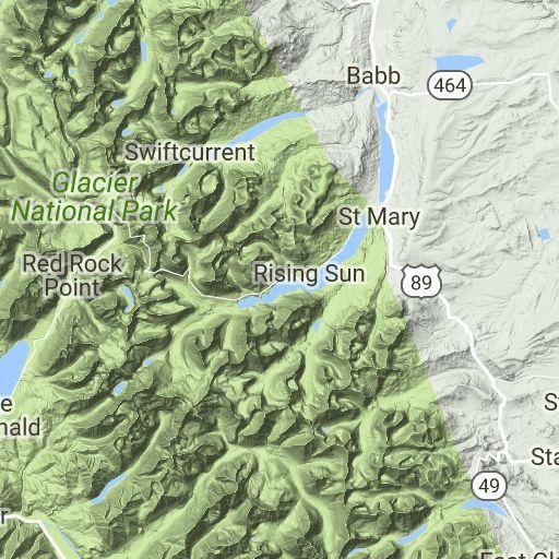 Glacier National Park Maps | Glacier Park Inc.
