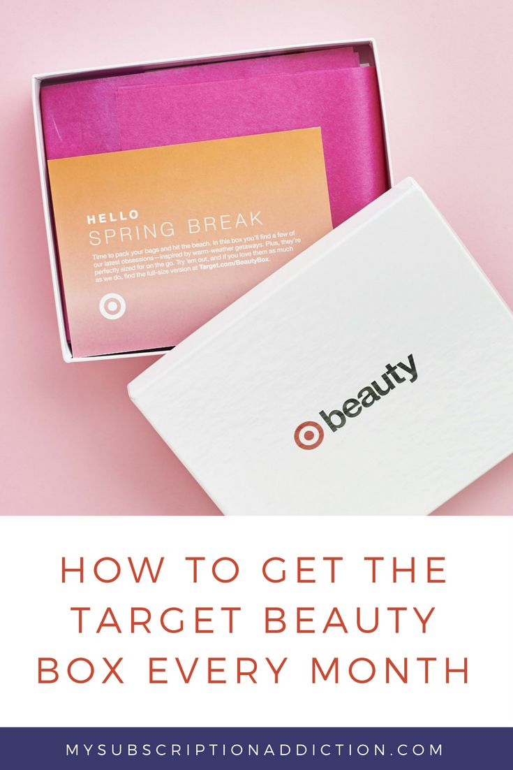 Target Monthly Box