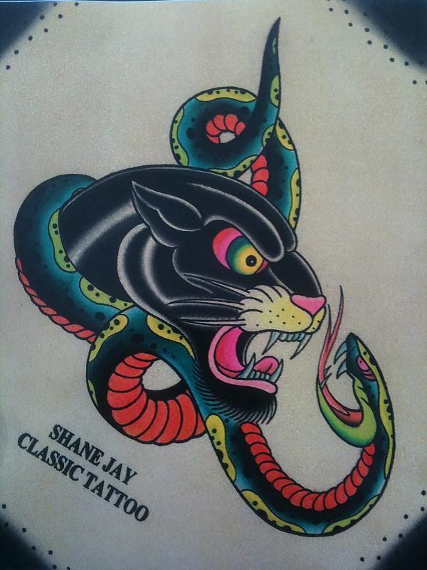 151 best agle vs nake vs ca images on pinterest for Panther tiger tattoo