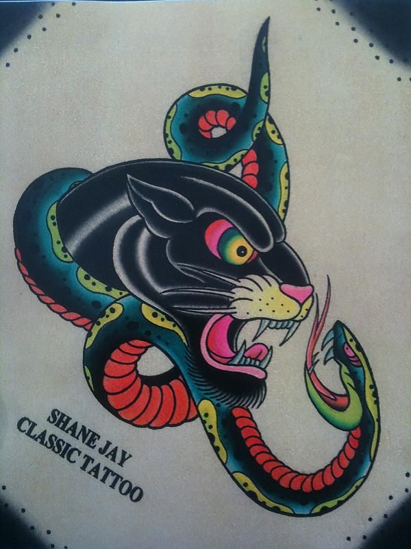 1000 ideas about traditional panther tattoo on pinterest tattoo flash art old school tattoos. Black Bedroom Furniture Sets. Home Design Ideas