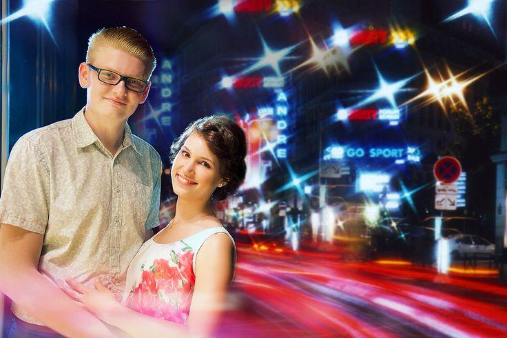 Фотосъемка Love Story для свадьбы во французском стиле