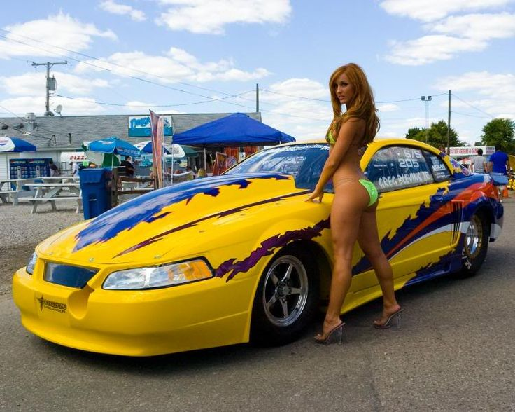 Best Girls At Race Tracks Or With Cars Images On Pinterest