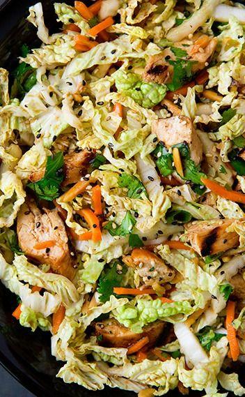 Salad: Chopped Salads, Grilled Ginger Sesame, Chicken Salad, Ginger ...
