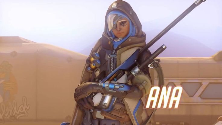 Overwatch New Character   Ana Gameplay Trailer This video will show you the new official character for Overwatch by the name of Ana. Directed by Jeff Kaplan,...