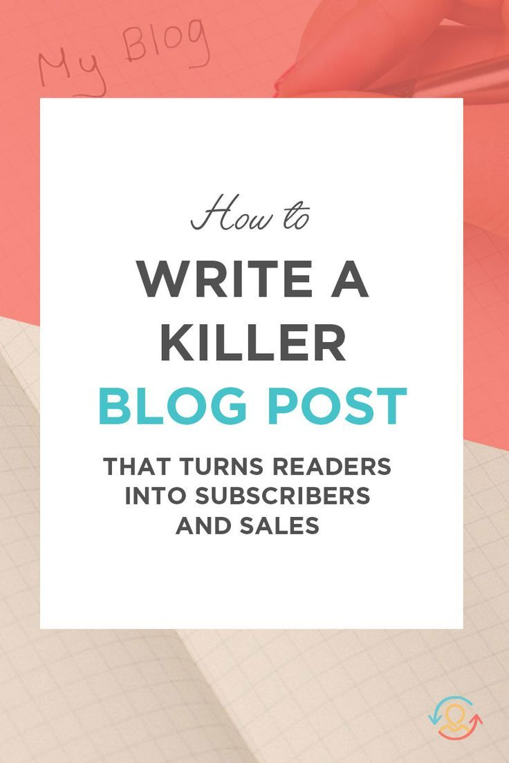 How to write a blog post that sells the 5 step blueprint malvernweather Choice Image
