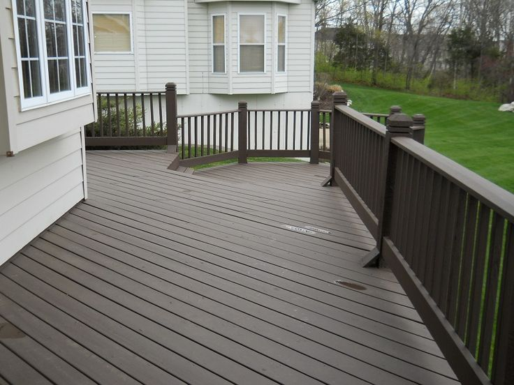 Sherwin William Solid Deck stain Null Deck Stain | Major League Painting, Inc.