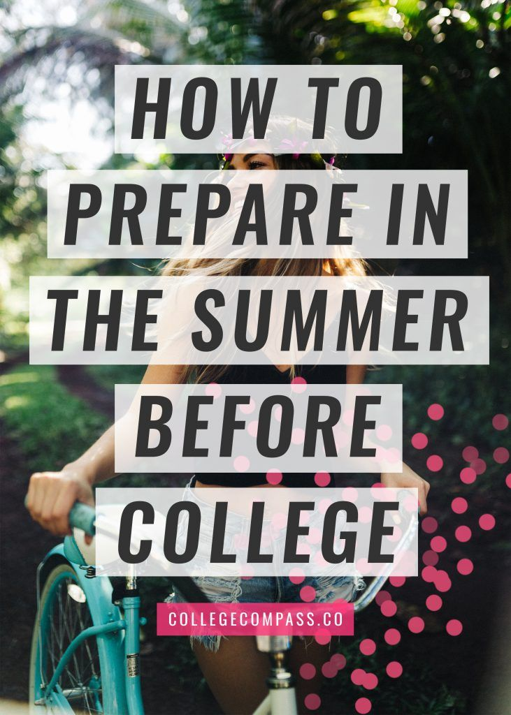 Want to make sure you're ready for school when classes start this fall? Check out my advice on how to prepare for college over the summer!
