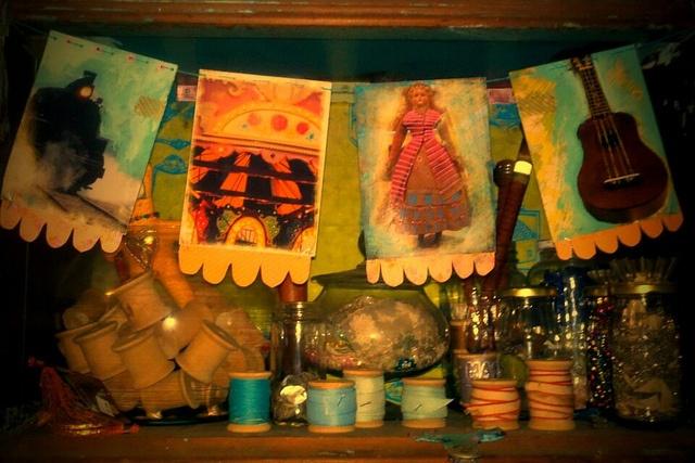 studio shelf: Photo