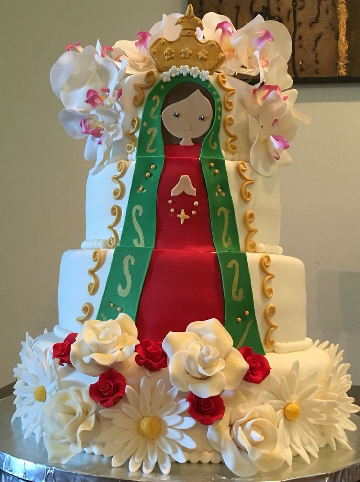 Virgin Mary Cake