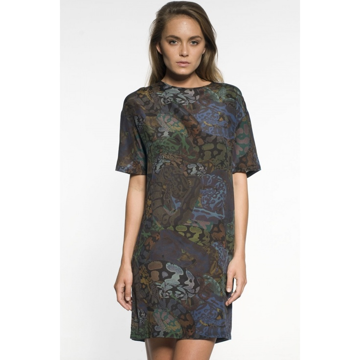 Stolen Girlfriends Club - CDC Dress - Camo Snakes  #Superette