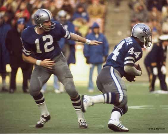 Robert Newhouse & Roger Staubach, do you need to write anything else?