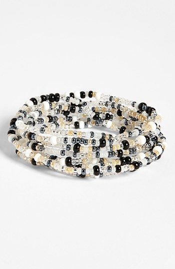 Me to We Artisans 'Rafiki - Income' Beaded Bracelet (Juniors) available at #Nordstrom