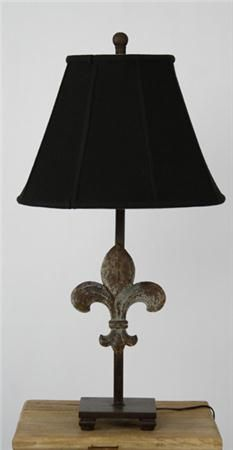 16 lamps pinterest rustique fleur de lis lamp by zentique at the garden gates who dat showcase mozeypictures Image collections