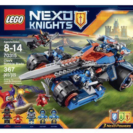 Lego Nexo Knights Clay's Rumble Blade 70315, Multicolor