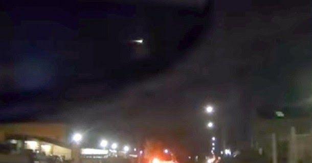 Μυστήριο στο Πόρτλαντ - Πύρινη μπάλα διασχίζει τον ουρανό (vid)