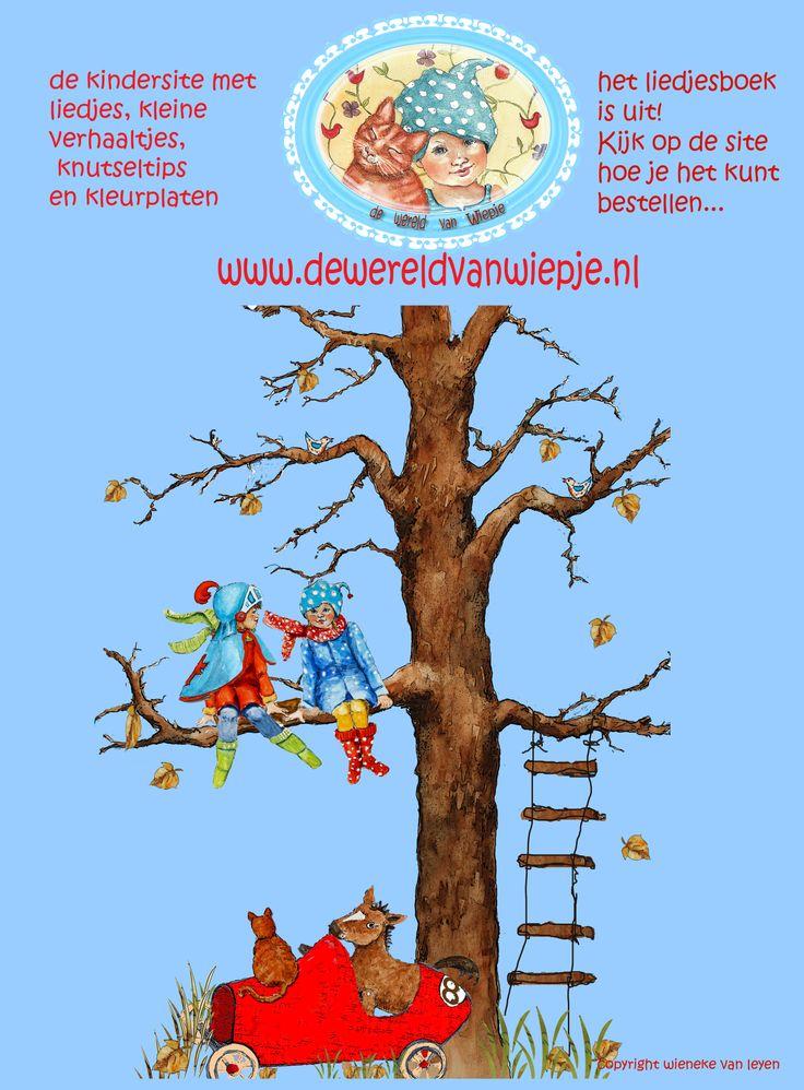 website dewereldvanwiepje.nl waarin het leukste liedjesboek is te vinden.