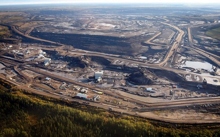 Bitumen in the tar sands being excavated to produce oil is the likely culprit of the mercury deposits