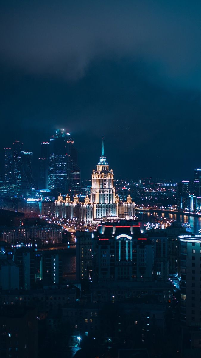 Moscow City Wallpaper City Aesthetic Hipster Wallpaper