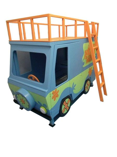 Here we have our truly funky and unique Scooby Doo Mystery Machine Bunk Bed. This has to be the ultimate Scooby Fans Bunk Bed. All our beds are finished in
