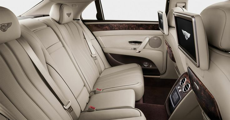 The new Bentley Flying Spur - rear seat entertainment. Visit the New Flying Spur site for wallpapers, video and to explore our interactive features. Best viewed on desktop or laptop.