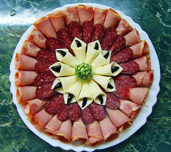 �?деи оформления праздничных блюд 3