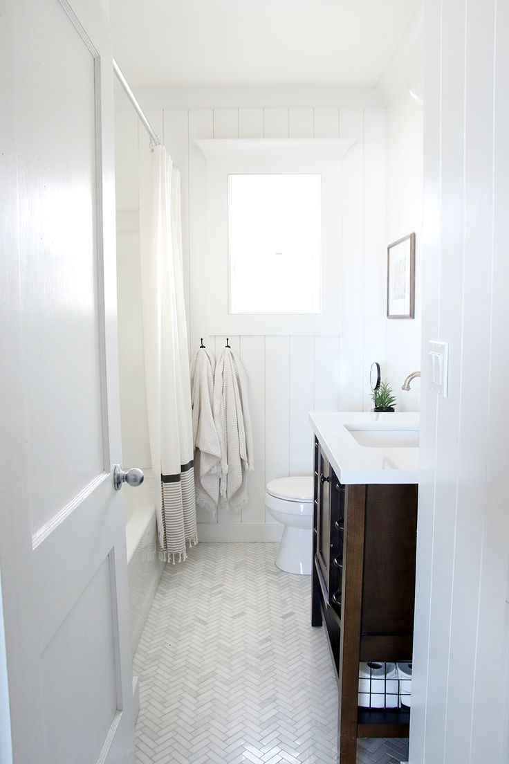 The Most DIY Friendly Bathroom Renovation We've Ever Done! - Chris Loves Julia