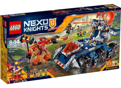LEGO NEXO KNIGHTS 70322 Axls tårntruck