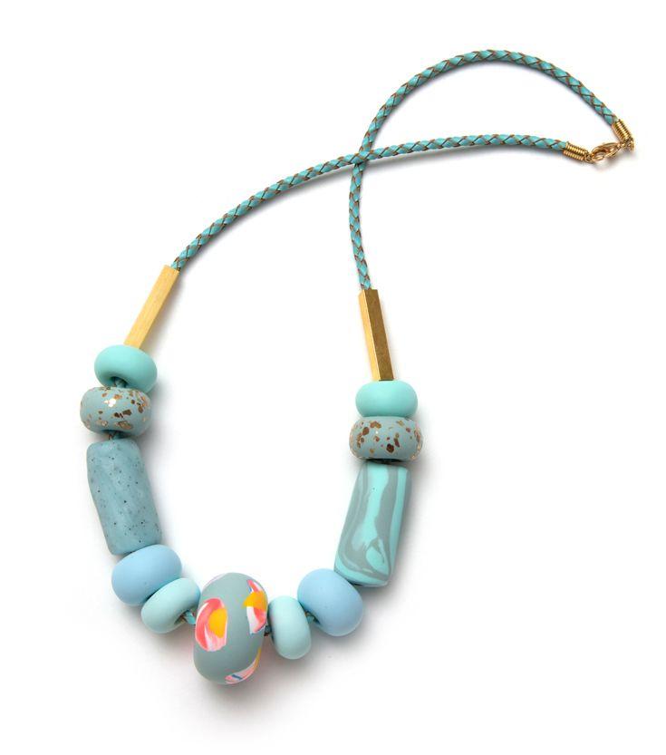 Emily Green – Hydrangea big bead necklace. emilygreen.net